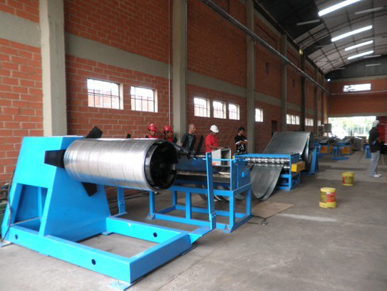 Simple Steel Slitting Line2